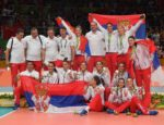 Serbia silver medallist