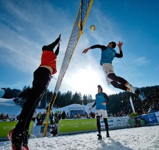 snow-volley