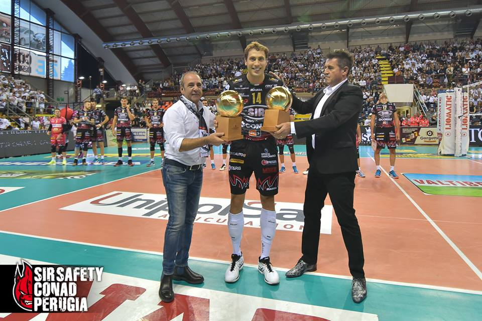 Photo: facebook/Sir Safety Perugia Volley Club