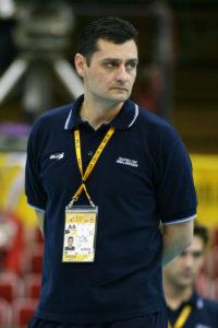 Serbia and Montenegro head coach Zoran Terzic